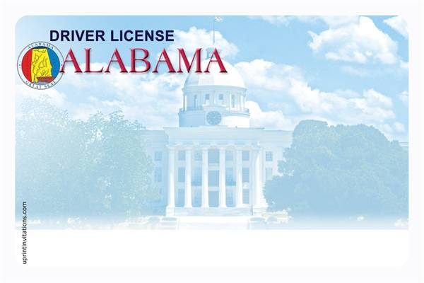 Drivers license for Al fishing license