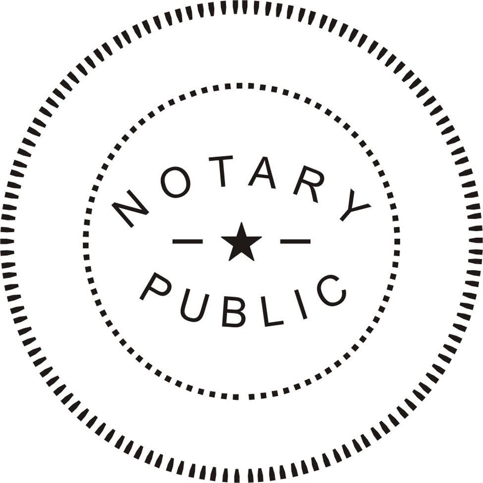 Notary Public Stamp And Seal